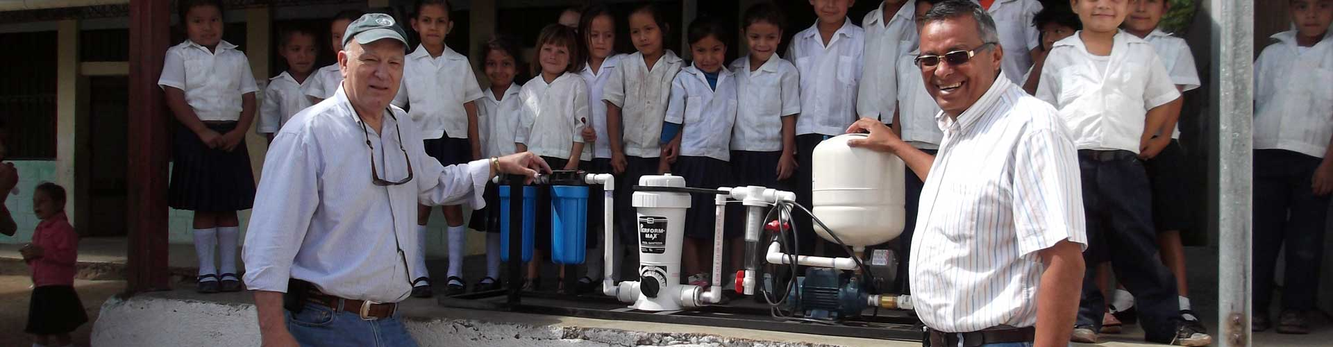 A Low-Cost/Low-Tech System for Water Purification & Filtration